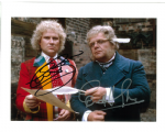 Geoffrey Hughes and Colin Baker  (Doctor Who)  10363